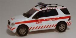 Mercedes Benz M-Klasse Leageambulance Falck