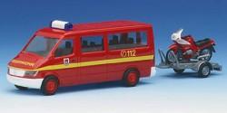 Mercedes Benz Sprinter Feuerwehr + Motorrad
