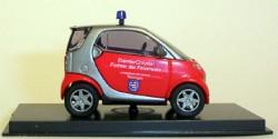 Smart City Coupe Feuerwehr Thüringen