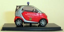 Smart City Coupe Feuerwehr Sachsen
