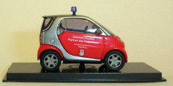 Smart City Coupe Feuerwehr Hamburg