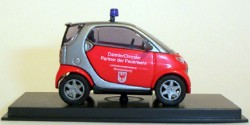 Smart City Coupe Feuerwehr Brandenburg