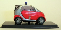 Smart City Coupe Feuerwehr Bayern