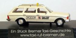 Mercedes Benz W123 T-Modell Taxi-Ruf Bremen