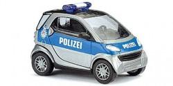 Smart City Coupe Polizei Hamburg