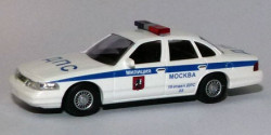 Ford Crown Victoria Polizei Moskau 15 DPS