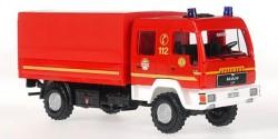 MAN L 2000 Dekon-P Feuerwehr Hamburg Fünfhausen