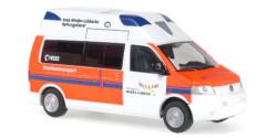 VW T5 Hornis Silver RTW Rettungsdienst Minden-Lübbecke