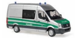 VW Crafter Kontrollstellenfahrzeug Polizei Bayern