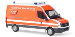 VW Crafter Feuerwehr Saarbrücken