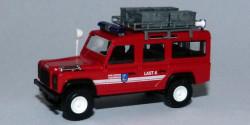 Land Rover Defender Feuerwehr Taxenbach