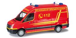 VW Crafter Feuerwehr Bremerhaven
