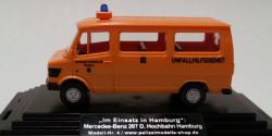 Mercedes Benz 207 D Unfallhilfsdienst Hochbahn Hamburg