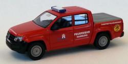 VW Amarok Kampfmittelräumdienst Feuerwehr Hamburg
