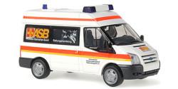 Ford Transit Rettungshundezug ASB Hamburg Bergedorf
