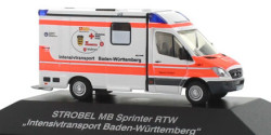 Mercedes Benz Sprinter RTW Intensivtransport Stuttgart