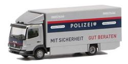 Mercedes Benz Atego Koffer-LKW Kriminalprävention Polizei Österreich