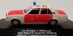 Opel Rekord D ELW Feuerwehr Hamburg