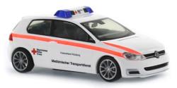 VW Golf 7 Medizinischer Transportdienst BRK Würzburg