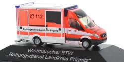 Mercedes Benz Sprinter RTW Rettungsdienst Prignitz