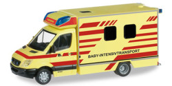 Mercedes Benz Sprinter Baby-Intensivtransport Feuerwehr Dresden