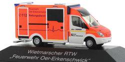 Mercedes Benz Sprinter RTW Feuerwehr Oer-Erkenschwick