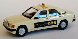 """Mercedes Benz 190 E Taxi """"6×6″ Hamburg"""
