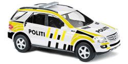 Mercedes Benz M-Klasse Polizei Norwegen