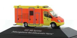 Mercedes Benz Sprinter RTW Rettungsdienst Herne