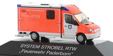 mercedes benz sprinter rtw feuerwehr paderborn rietze. Black Bedroom Furniture Sets. Home Design Ideas