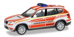 BMW X3 Kindernotarzt Feuerwehr München