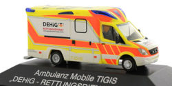 Mercedes Benz Sprinter RTW DEHiG Rettungsdienst Berlin