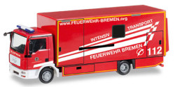 MAN TGL Koffer-LKW Intensivtransport Feuerwehr Bremen
