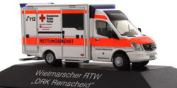 Mercedes Benz Sprinter RTW DRK Remscheid