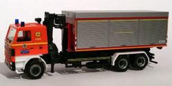 Scania 142 WLF mit AB GSG Feuerwehr Hamburg