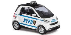 Smart Fortwo Coupe N.Y.P.D. Polizei New York