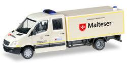 Mercedes Benz Sprinter mit Koffer GW-San Malteser Hilfsdienst
