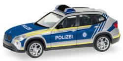 BMW X1 Polizei Bayern