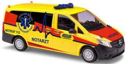 Mercedes Benz Vito NEF Millich Ambulanz Rettungsdienst GmbH Kreis Rostock