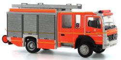Iveco Magirus Lohr HLF Feuerwehr Hamburg Innenstadt