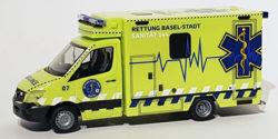 Mercedes Benz Sprinter RTW Rettung Basel-Stadt Schweiz