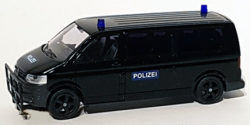 VW T5 mit Rammschutz Polizei SEK