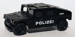 Hummer H1 Polizei Panzerfahrzeug Spezialeinsatzkommando