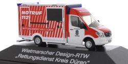 Mercedes Benz Sprinter RTW Rettungsdienst Kreis Düren