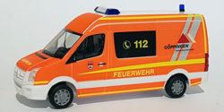 VW Crafter MTW Feuerwehr Göppingen