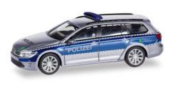 VW Passat Variant GTE Polizei Hamburg