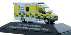 Mercedes Benz Sprinter GSF RTW Simulations-Rettungswagen UKSH Kiel