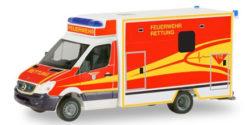 Mercedes Benz Sprinter RTW Feuerwehr Ingolstadt