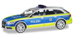 Audi A6 Avant Polizei Baden-Württemberg