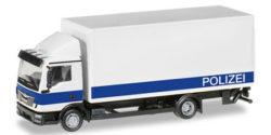 MAN TGL Koffer-LKW mit Ladebordwand Polizei Brandenburg Logistik